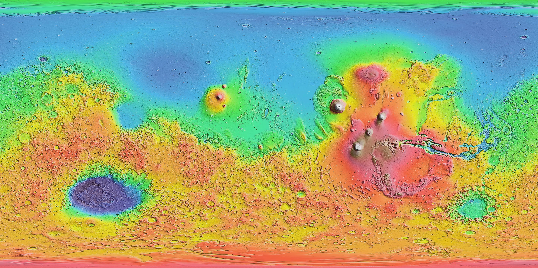 Interactive Mars Data Maps